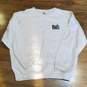 Disney Vintage Winnie The Pooh Embroidered Sweatshirt XL
